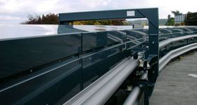 Safetyworks SPRL - Clabecq - Rail potence acrotere