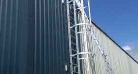 Safetyworks SPRL - Clabecq - Echelle crinoline