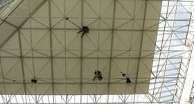 Safetyworks SPRL - Clabecq - Installation moteur Atrium